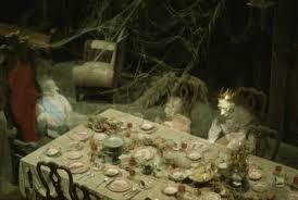 Haunted mansion dining room for Haunted dining room ideas