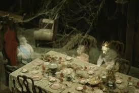 haunted mansion dining room